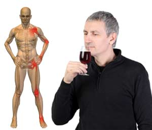Drinking Wine Help Ease Arthritis Pain